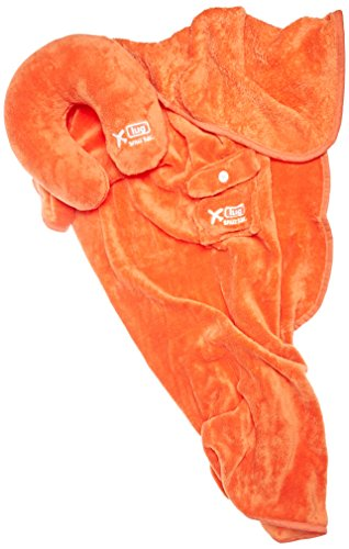 Lug Snuz Sac U Blanket and Pillow, Sunset Orange