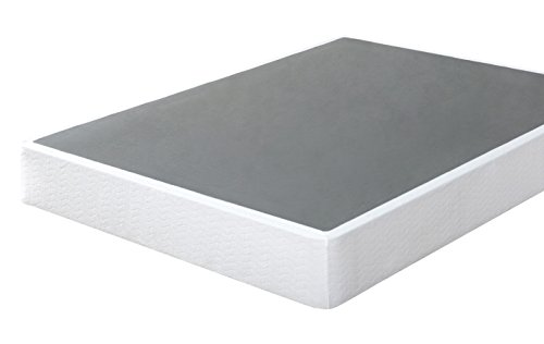 Zinus 9 Inch High Profile Smart Box Spring / Mattress Foundation / Strong Steel structure / Easy assembly required, Twin XL