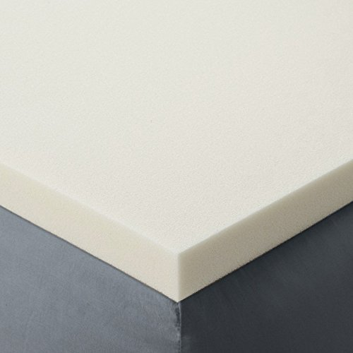 King Size 2 Inch Thick, Ultra Premium Visco Elastic Memory Foam Mattress Pad Bed Topper. Made in the USA