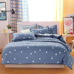 Uozzi Bedding 3 Piece Duvet Cover Set Queen/Full, Reversible Printing with Brushed Microfiber, Lightweight Soft, Comfortable , Durable (Gray, Queen)¡