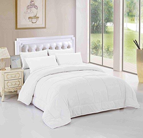 Unique Home All Season Alternative Goose Down Comforter Plush Fiberfill Duvet Insert, Twin/Twin X-Large/Queen/King