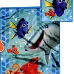 Disney Finding Dory Micro Raschel Throw Blanket and Pillow Set