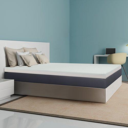 Best Price Mattress 4″ Memory Foam Mattress Topper, Twin XL