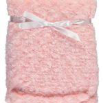 "Magic ""Soft Swirled"" Extra Comfy Plush Baby Blanket (Pink)"