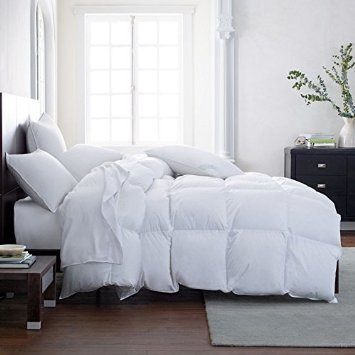 THE ULTIMATE WINTER COMFORTER Hotel Luxury Down Alternative Comforter Duvet Insert with Tabs Washable and Hypoallergenic (California King)