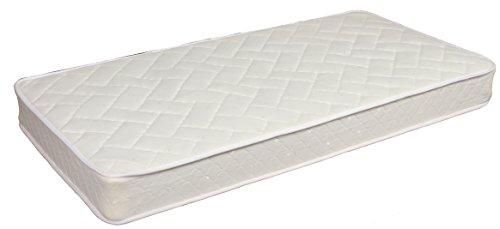 Modern Home Comfort Sleep 8-Inch Two Sided Spring Mattress Green Foam Certified – Medium Firmness Twin