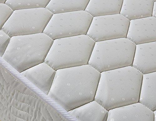 Signature Comfort Sleep 7-Inch Twin Mattress Sleep Master Ultima Soft Plush Single Mattress Green Foam Certified (Twin Size)
