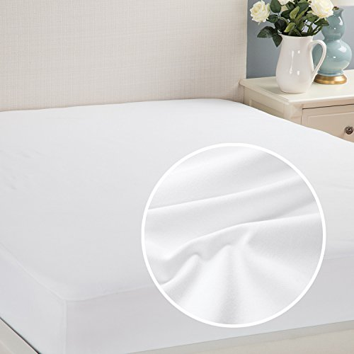 Waterproof Mattress Protector Queen Hypoallergenic Soft Terry Dust Mite Resistant Breathable by Bedsure