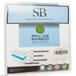 Baby Crib Mattress Protector Pad – The Softest Bamboo Rayon Fiber Quilted Terry – Waterproof & Hypoallergenic – Protect from Dust Mites & Mold – Spahr Bedding Crib Size