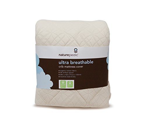 Ultra-Breathable Crib Mattress Cover – Crib Fitted