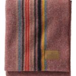 Pendleton Camp Wool Blanket Red Mountain Wool Throw Blanket