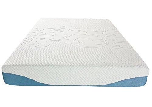 Synwell Sleep 9″ Gel Infused and Ergonomic Convoluted Ventilation Memory Foam Mattress, Twin