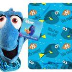 Disney Pixar Finding Dory Plush Figurine Doll and Blanket Throw Gift Set