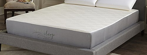 Nature's Sleep 10″ Gel Memory Foam Mattress, Queen