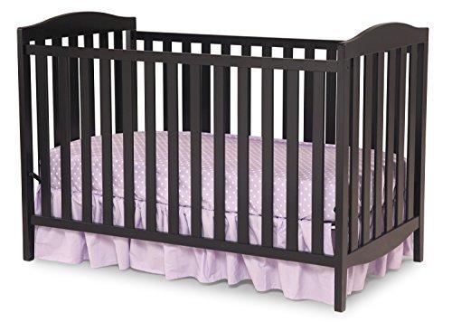 Delta Children Capri 3-in-1 Crib, Black