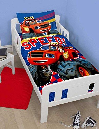 Blaze Zoom Junior Cot Bed Duvet Cover Set