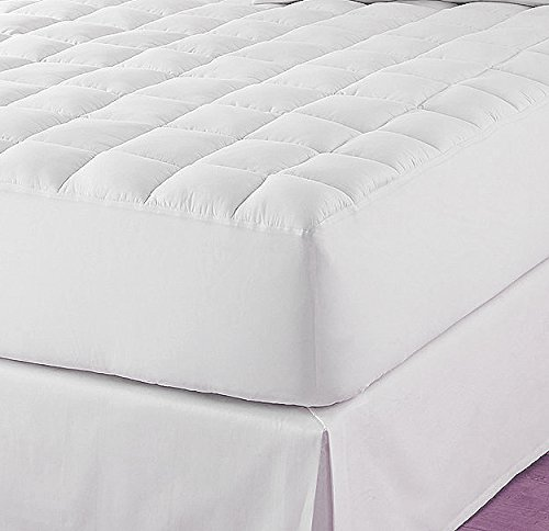 Classic Extra Deep Microfiber Quilted Mattress Pads – Twin Extra Long