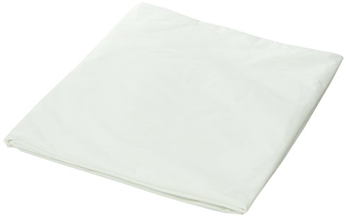 DMI Hypoallergenic Contoured Plastic Mattress Cover Protector, Waterproof, Hospital Bed Size, White