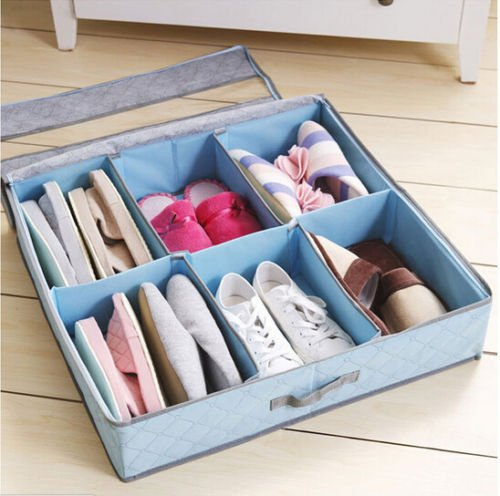 Storage Box Super Multi Organizer Under Holder Bed Closet Intake Hot New Shoes