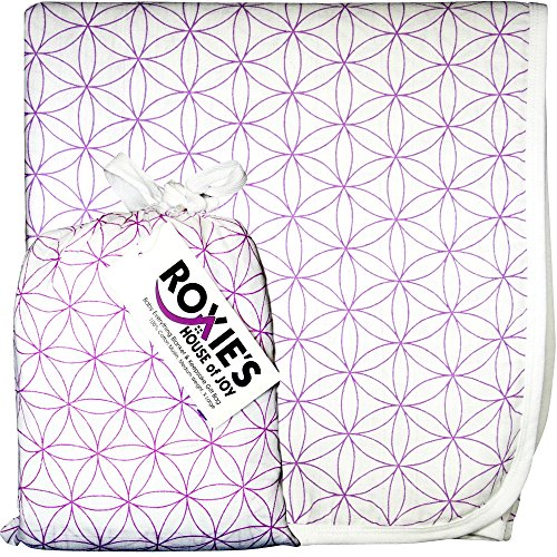 Roxie's Everything Blanket and Gift Bag, Baby and Toddler, Purple