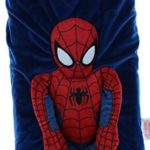 Marvel Spiderman Snuggle Pillow Tote includes blanket set