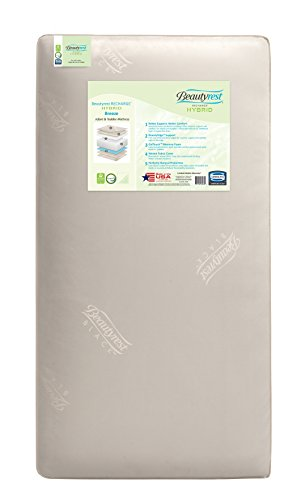 Simmons Kids Beautyrest Recharge Hybrid Breeze Crib and Toddler Mattress