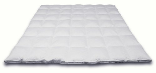 Down Etc Down Queen 60-Inch by 80-Inch Down Feather Bed, White