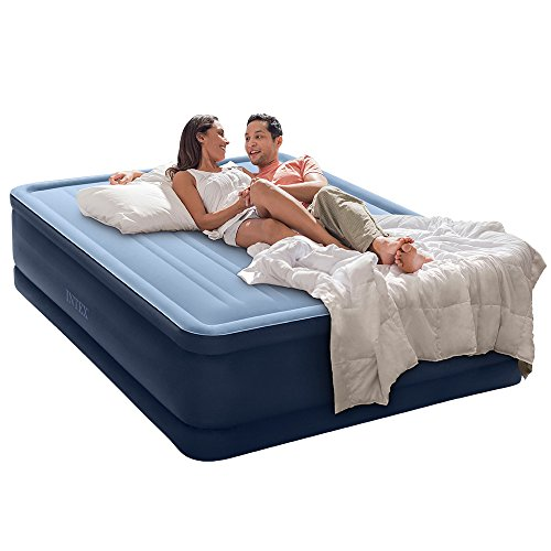 Intex Premaire Series Robust Comfort Airbed with Built-In Electric Pump, Bed Height 20″, Queen – Amazon Exclusive