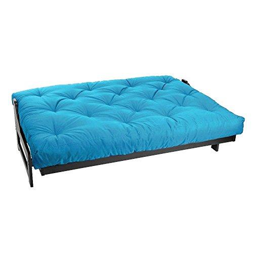 Magshion* 6 Inch Futon Mattress Mattresses Bed Cotton Foam Full, Queen (Full, Sky Blue)