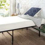 "Zinus 14 Inch SmartBase Mattress Foundation / Cot size / 30"" x 75"" / Platform Bed Frame / Box Spring Replacement, Narrow Twin"