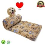 Soft Warm Fleece Throw Blanket Pet Dog Blanket Fleece Puppy Blanket Cushion Ultra Light Comfortable Soft Warm Sleep Mat Fabric Indoors Outdoors 40 X 32 Inches
