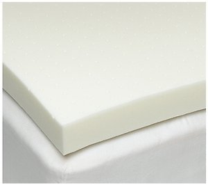 Twin XL 1.5 Inch iSoCore 4.0 Memory Foam Mattress Topper with Waterproof Cover and Two Contour Pillows included American Made
