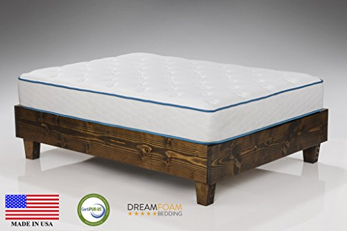 Arctic Dreams 12″ Cooling Gel Mattress Made in the USA, Queen