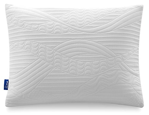 LazyCat Pillow Shredded Certipur-US Memory Foam Pillow, Standard