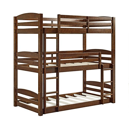 Dorel Living DL7891TBB Sierra Bunk Bed, Triple Bunkbed