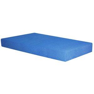 Spa Sensations 5″ Blue Memory Foam Youth Mattress, Twin