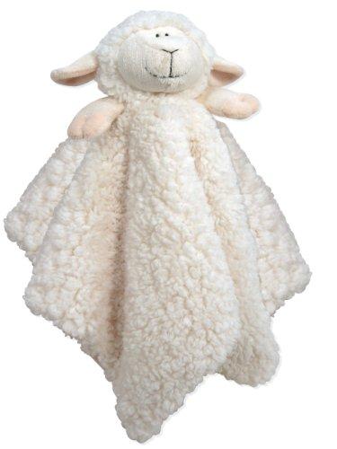Stephan Baby Ultra Soft Cuddle Bud Blankie Lamb, Cream