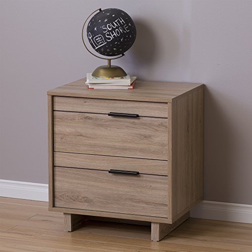 Fynn Collection Nightstand – Rustic Oak by South Shore