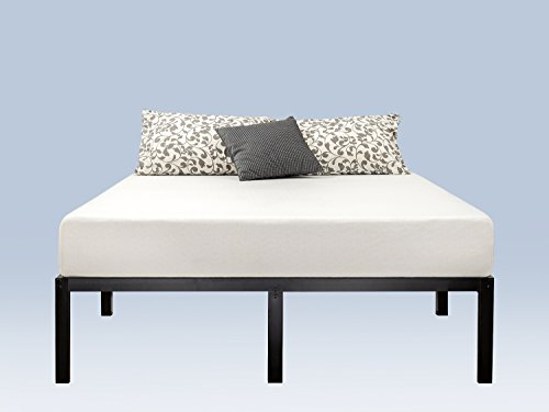 Zinus 14 Inch Classic Metal Platform Bed Frame with Steel Slat Support / Mattress Foundation, Queen