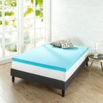 Zinus 3 inch Gel Memory Foam Mattress Topper, Twin