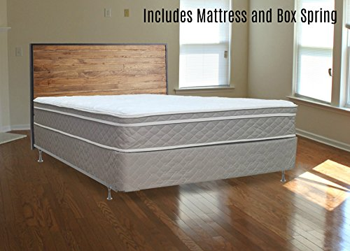Fully Assembled Orthopedic Mattress and Box Spring