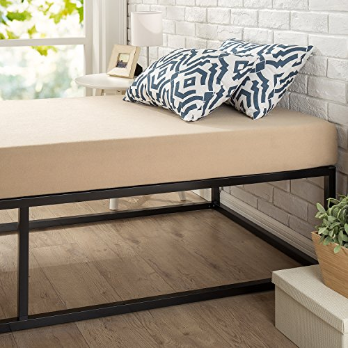Zinus Modern Studio 14 Inch Platforma Bed Frame / Cot Size / 30″ x 74.5″ / Mattress Foundation with Wood Slat Support, Narrow Twin