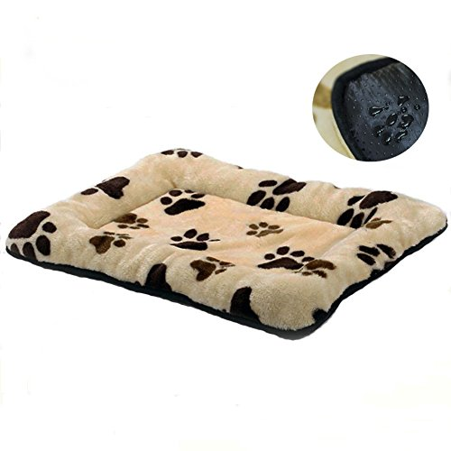 HUALAN Pet Crate Mattress Dog/Cat Cage Mat Cusion Washable Kennel Pads, 30″ x 20″