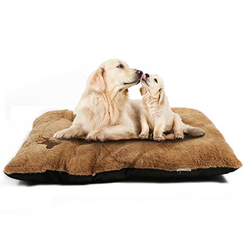 Padded Dog Mat Bed Winter for Medium Dogs Cushion Soft Warm Washable Pet Mattress Medium Large Size Removable Kennel Pads for Pets