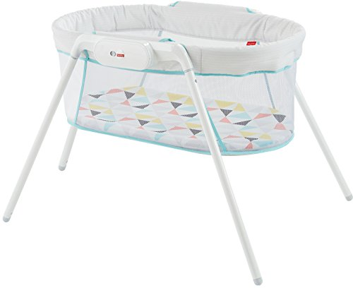 Fisher-Price Stow 'n Go Bassinet, White, One size