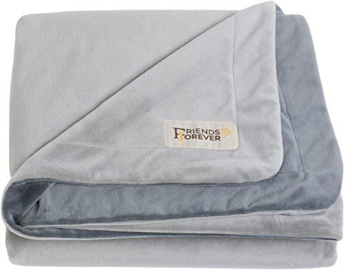 [100% PURE CRYSTAL VELVET] Super Deluxe Pet Bed Blanket Size L Dog Cat Throw