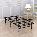 SimpleHouseware 14-Inch Twin Size Mattress Foundation Platform Bed Frame, Twin