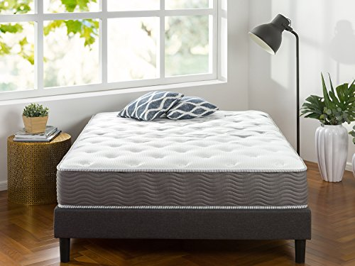Zinus 10 Inch Performance Plus / Extra Firm Spring Mattress,Twin