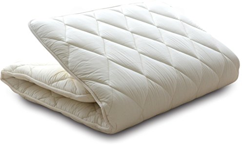 "EMOOR Japanese Traditional Futon Mattress ""Classe"", Japanese Full-Short Size. Made in Japan"