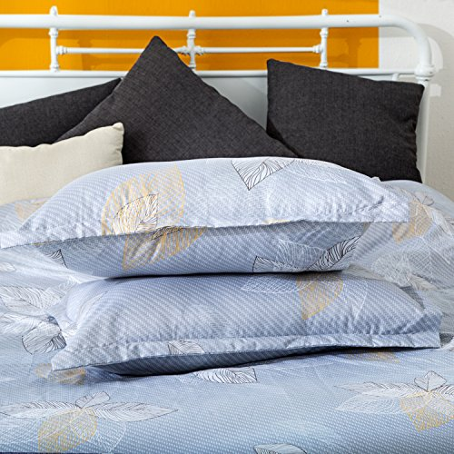 3 Piece Duvet Cover and Pillow Shams Bedding Set,Made in 100% Microfiber, natural material, environmental friendly. (Queen)